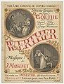 Eugène Grasset - Jules Massenet - Werther - Original.jpg