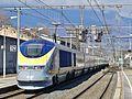 Eurostar Savoie-Londres quitte Chambéry (février 2017).JPG