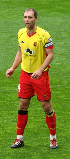 John Eustace - Eustace playing for Watford in 2012