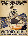 Every girl pulling for victory, WWI poster, 1918.jpg