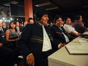 Evo Morales in 2012