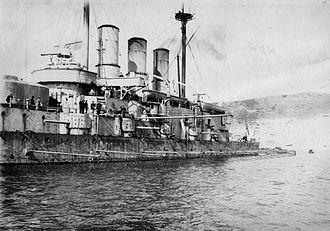 Torpedo net - Image: Evstafiy 1910s