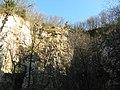 Ex cava Spinazzola, formazione rocciosa (Rovolon) 02.jpg