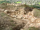 Excavations on Buckton Castle July 2007.JPG