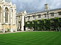 Exeter College, NE corner of the quad (geograph 2071021).jpg