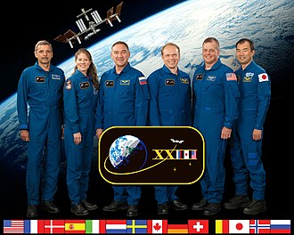 Expedition 23 - Image: Expedition 23 crew members