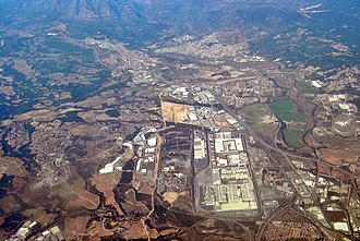 SEAT - SEAT's industrial complex in Martorell.