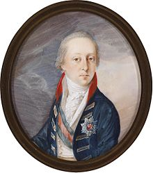 Nikolaus II. Esterházy (Miniaturbild von Joseph Lancedelli, 1803) (Quelle: Wikimedia)