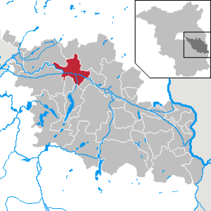 Fürstenwalde - Image: Fürstenwalde Spree in LOS