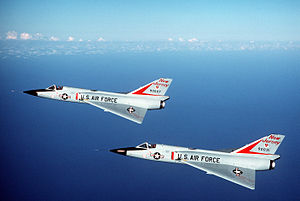 177th Fighter Wing - F-106s of the 119th Fighter-Interceptor Squadron, 1984