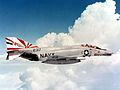 F-4N Phantom of VF-111 in flight in 1976.jpg