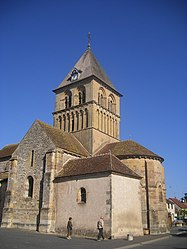 The church in Rouy