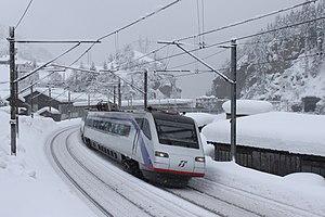 FS Class ETR 470 - ETR 470 in Trenitalia livery