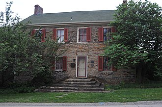 North Huntingdon Township, Westmoreland County, Pennsylvania - The Fullerton Inn, a historic site in the township