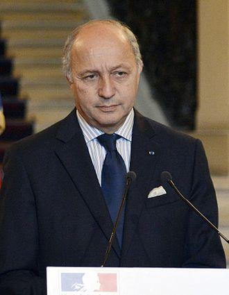 Ayrault government - Image: Fabius 4 février 2013