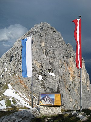 Leogang Mountains - View from the Passauer Hut of the Fahnenköpfl