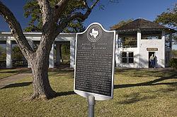 Fannin battleground state historic site in 2009
