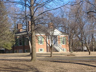 Farmington (Louisville, Kentucky) - Side view of plantation house