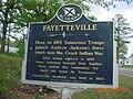 Fayetteville Historical Sign.JPG