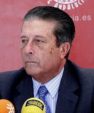 Federico Mayor Zaragoza - At the Universidad Internacional de Andalucia in 2007.