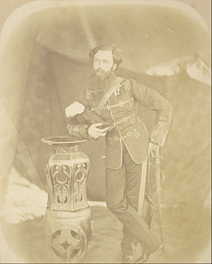 Henry Hope Crealock - Photograph by Felice Beato, 1858–1859