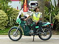 Female Transit Officer with Motorbike - Jarabacoa - Dominican Republic.jpg