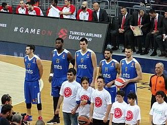 KK Crvena zvezda - 2017–18 roster