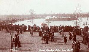 Thomas Ferens - Image: Ferens Boating Lake. East Park 1914