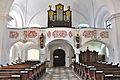 Ferlach Kappel Pfarrkirche Heiliger Zeno Orgelempore 10052011 115.jpg