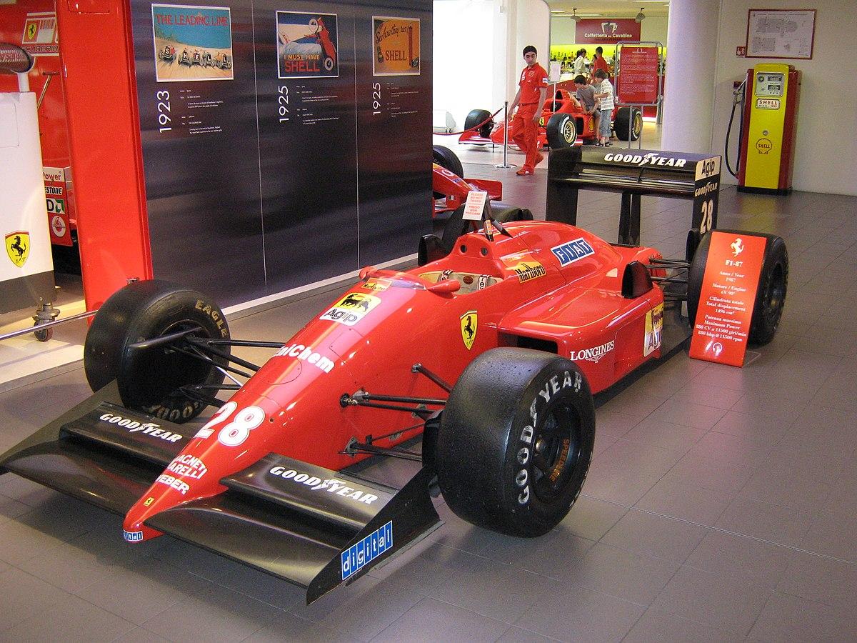 Ferrari F1/87 - Wikipedia