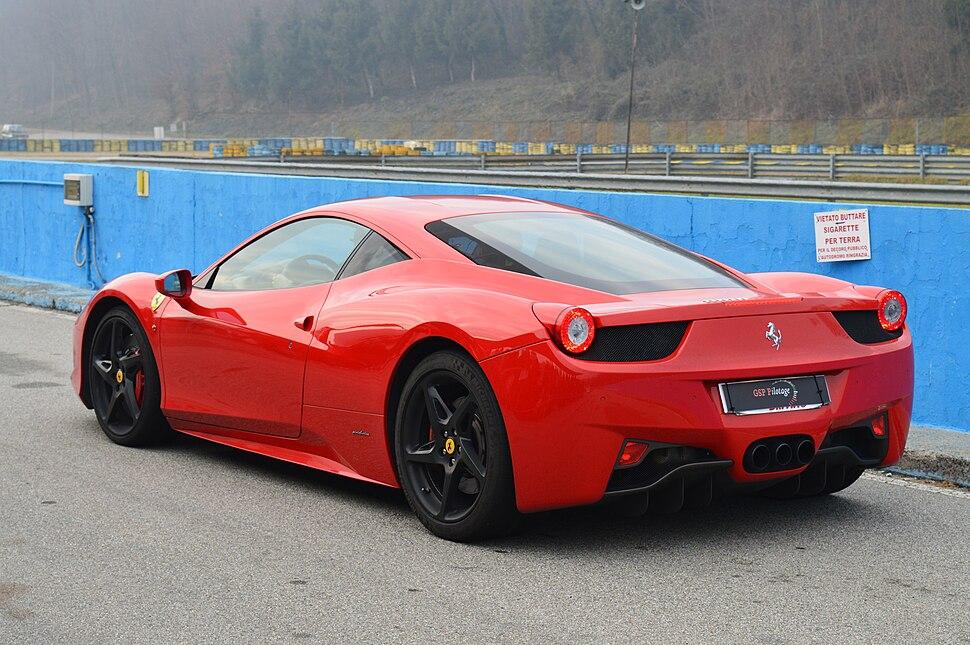 Ferrari f458 Italia a Lombardore 03