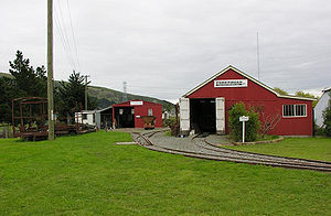 Ferrymead Two Foot Railway - The Two Foot Railway Workshops
