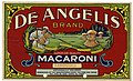 Field Report Exhibit for De Angelis Brand Superior Quality Macaroni Products Consisting of Artwork for the Label Stamped, Linguine - NARA - 22475204.jpg