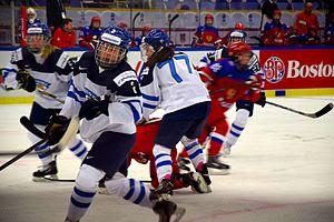 2015 IIHF Women's World Championship - Finland - Russia