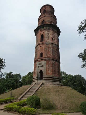 Gauḍa (city) - Firoj Minar at Gour