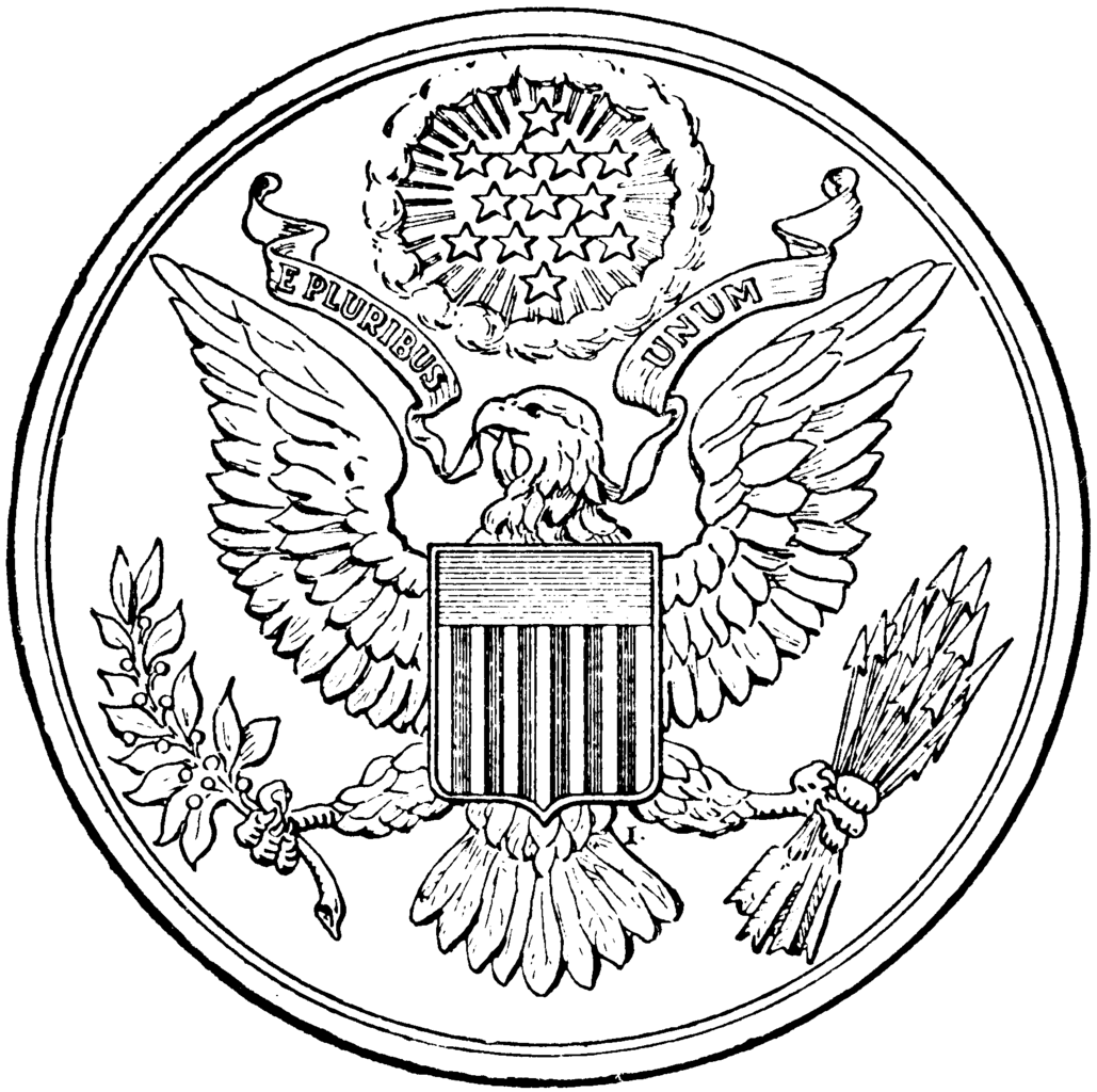 coloring pages for united states symbols colouring pages - Symbols America Coloring Pages