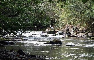 Sirhowy River - Sirhowy River near Wattsville
