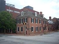 Flag House, 844 East Pratt Street, Baltimore, Maryland.JPG