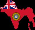 Flag Map of British Raj (India).png