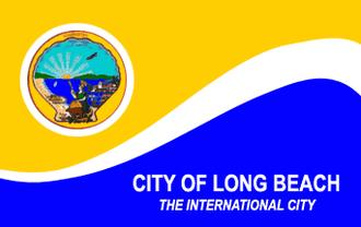 Long Beach Police Department (California) - Flag of Long Beach