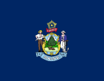 Flag of Maine (June 16, 1909)