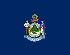 Flag of Maine.svg