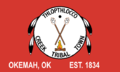 Flag of Thlopthlocco Tribal Town of the Creek Nation of Oklahoma.png