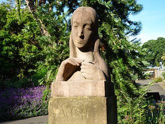 "Arthur Fleischmann - ""I Wish"" (1946), in the Royal Botanic Gardens, Sydney"