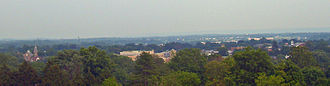 Flemington, New Jersey - Flemington from Prospect Hill, looking southeast