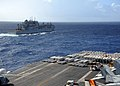 Flickr - Official U.S. Navy Imagery - USS Enterprise approaches USNS Sacagawea..jpg