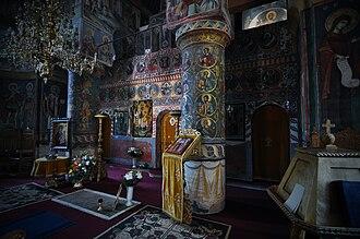 Snagov - Snagov monastery -interior