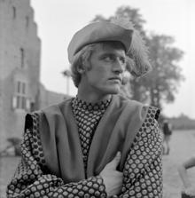 Hauer nel 1969 sul set della serie televisiva Floris