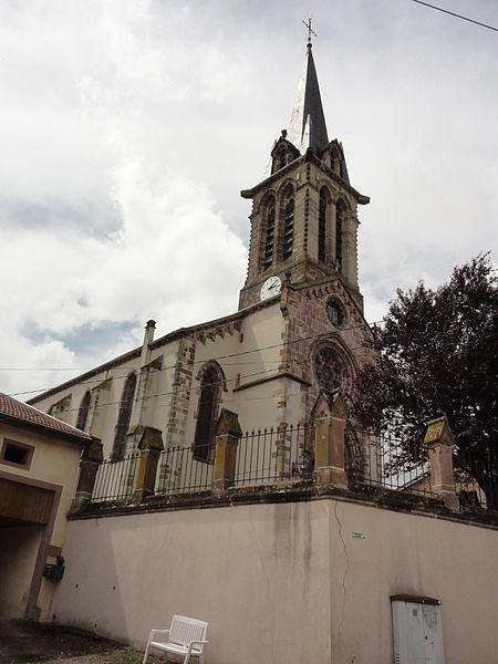 Fontenoy-la-Joûte (M-et-M) église Saint-Pierre