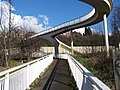 Footbridge Over The M1 near Junction 34, Sheffield - Rotherham - 3 - geograph.org.uk - 1207928.jpg